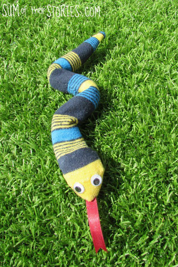 sock snake tutorial