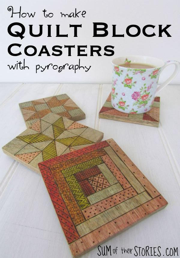 quilt block coasters with .jpg