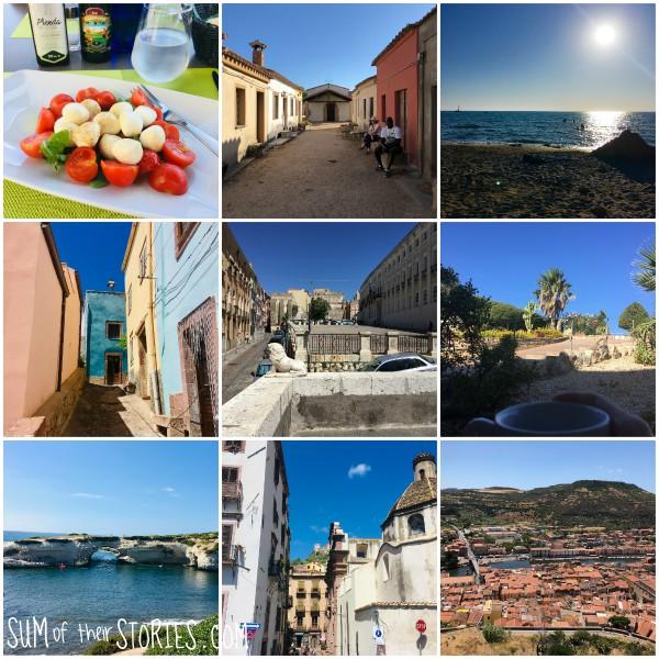 our trip to sardinia