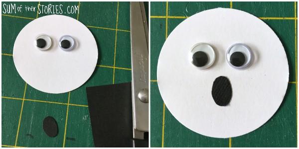 Simple paper ghost