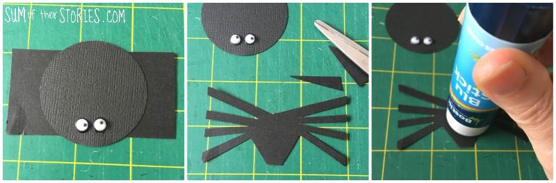 Simple paper spider
