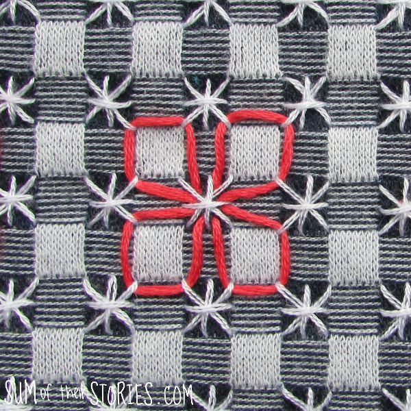 chicken scratch embroidery design
