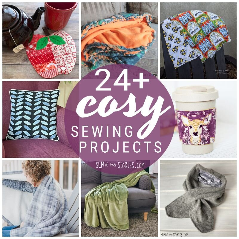 24 cosy sewing projects