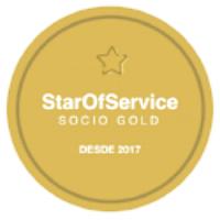 Sello Gold StarOfService