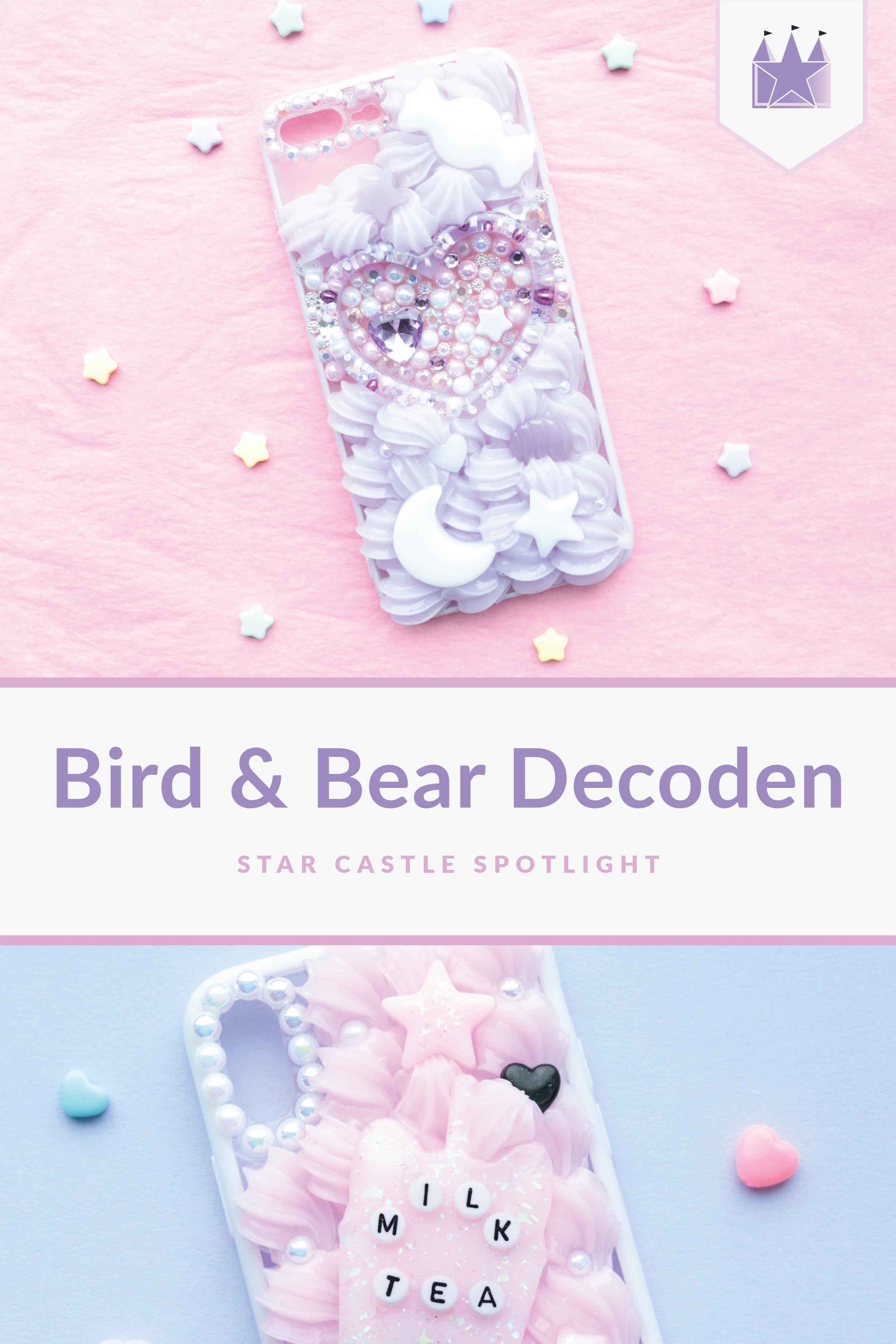 Star Castle Spotlight Bird and Bear Decoden Artist Spotlight