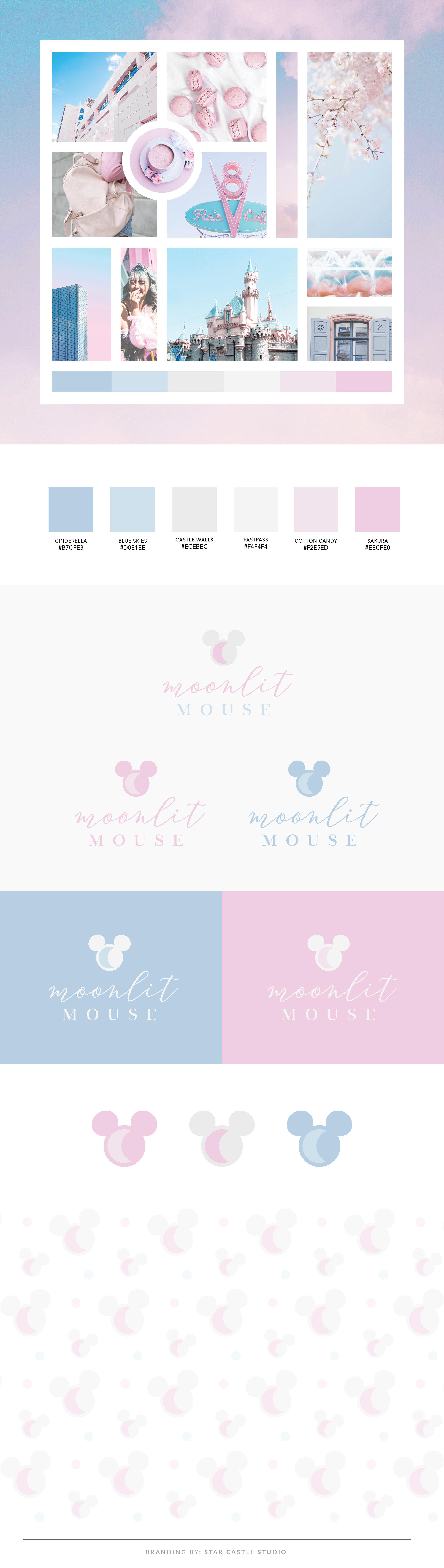 brand design disney kawaii pastel cute flair pin