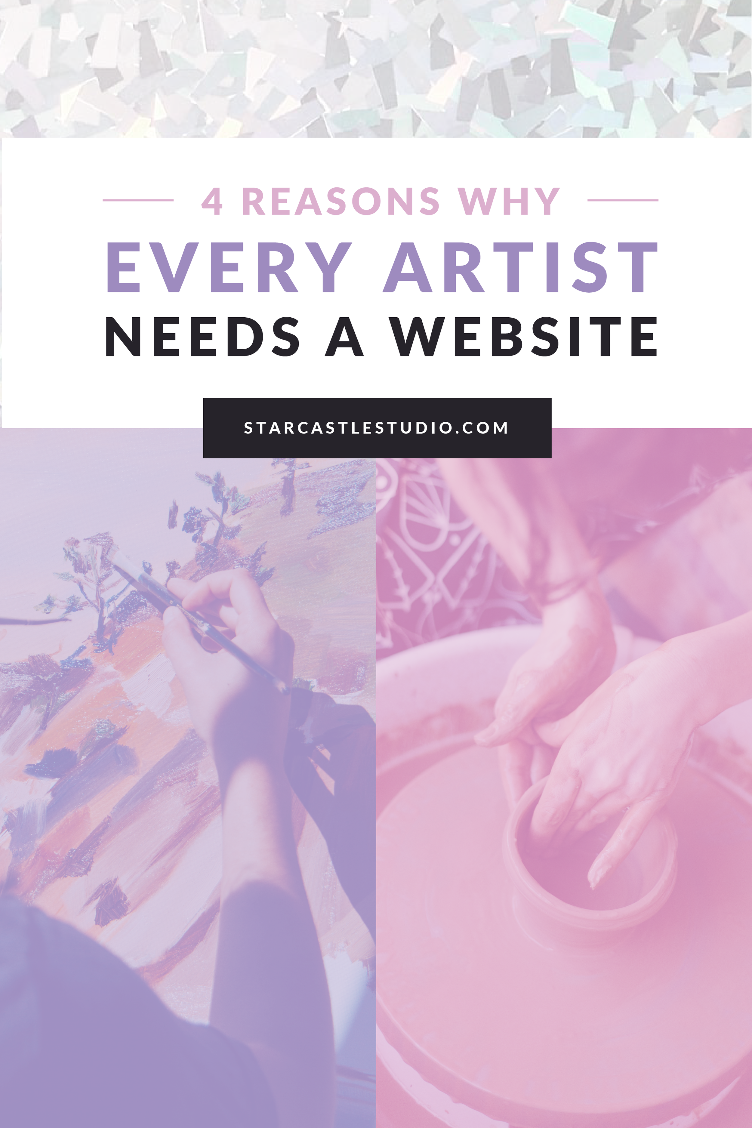 Why every artist needs a website