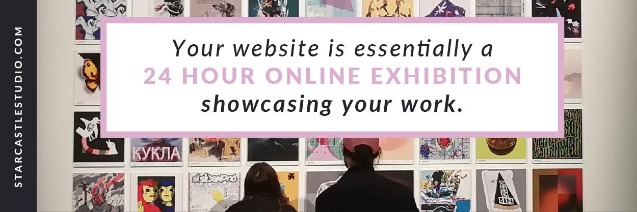 Every artist needs a website