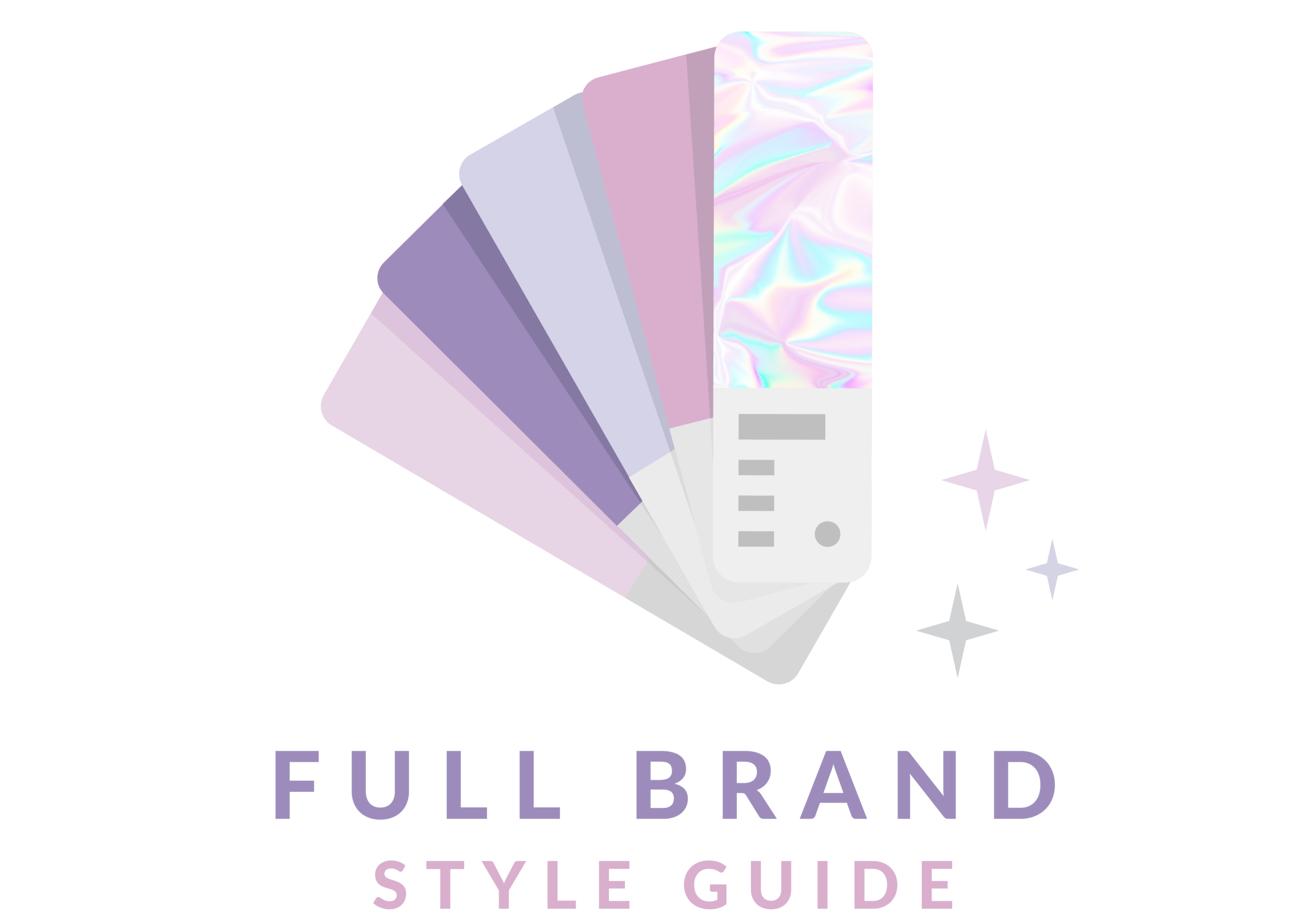 Full brand style guide for artists