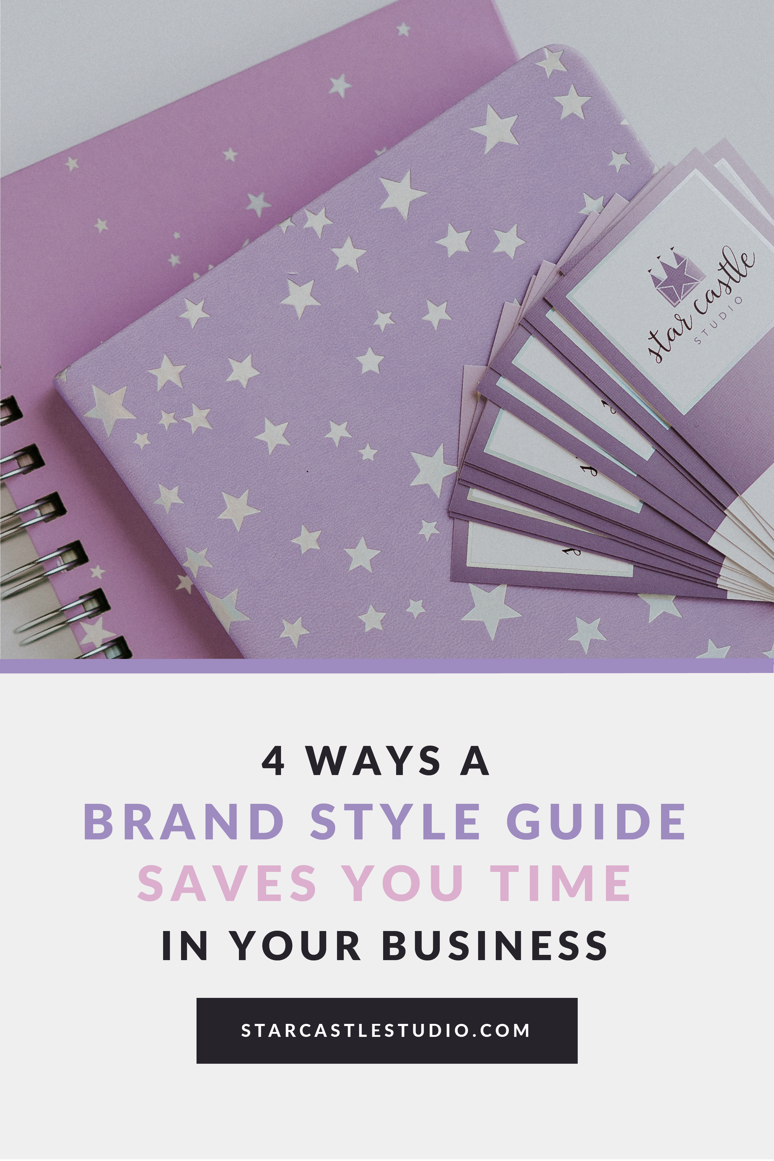 4 ways how a brand style guide saves you time in your business time saving hacks for entrepreneurs and makers artists