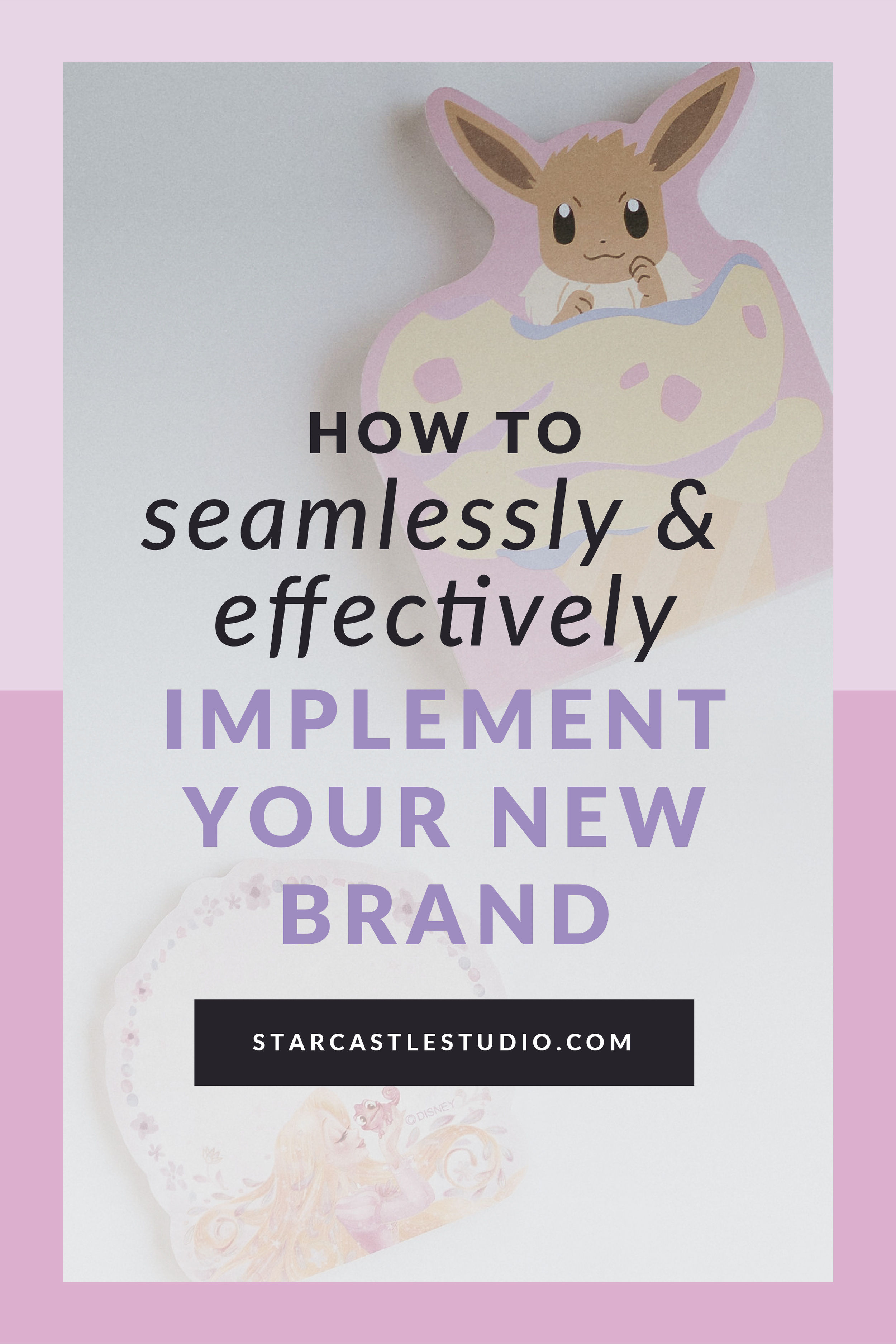How to implement your new brand