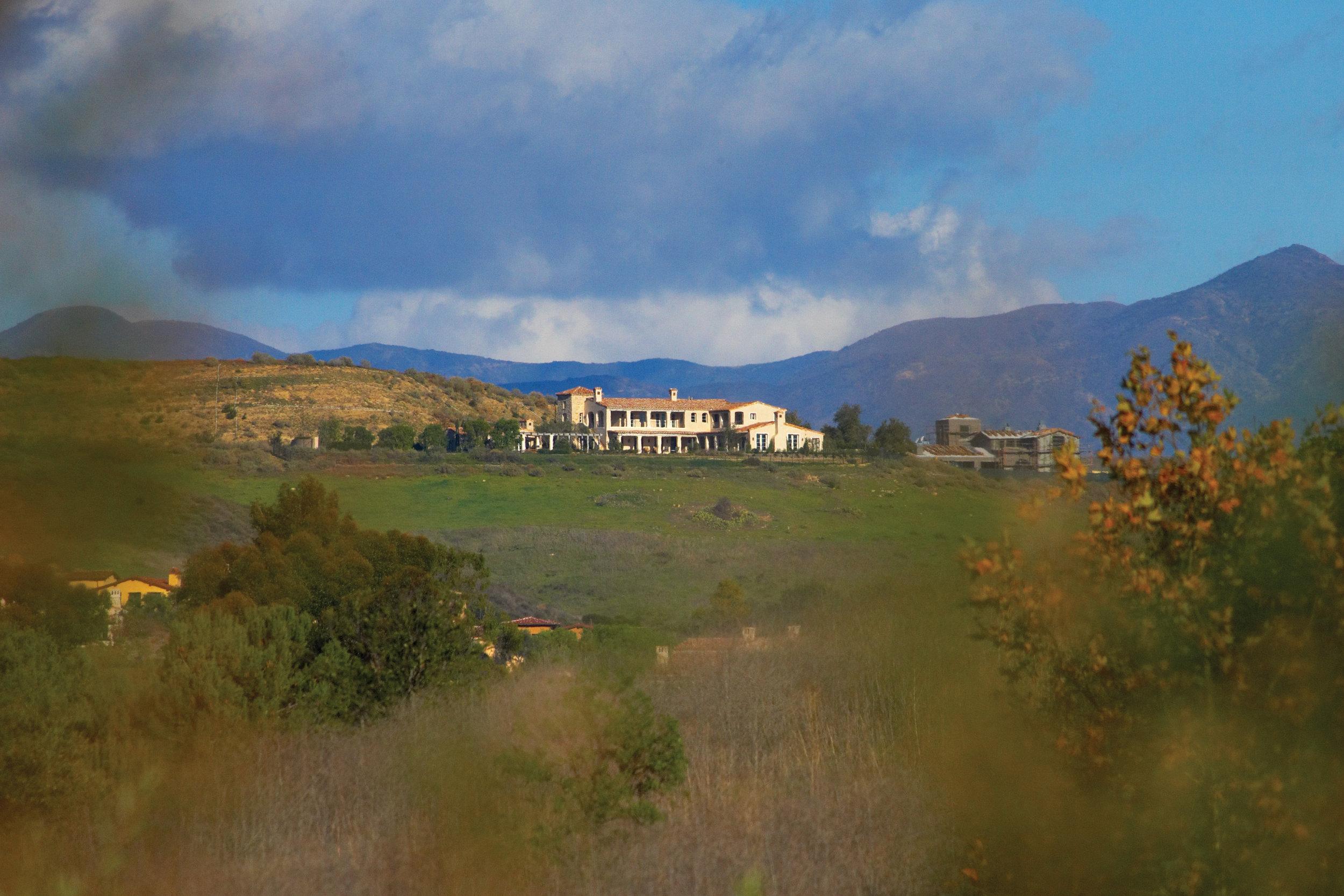 Shady Canyon - Provence Home Landscape by Oatman Architects