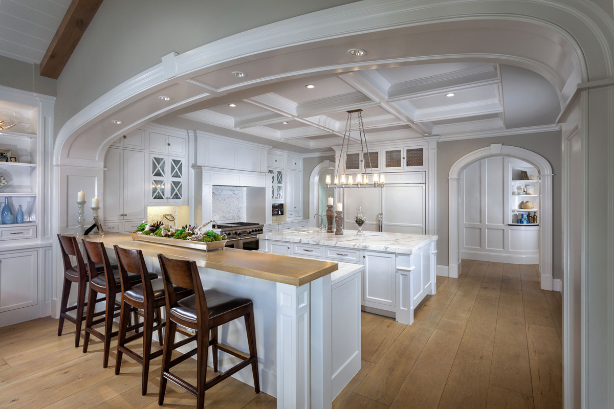 Hamptons Shingle Style Kitchen by Oatman Architects