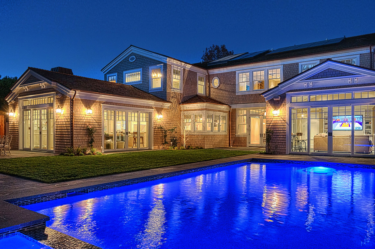 Hamptons Shingle Style Pool by Oatman Architects