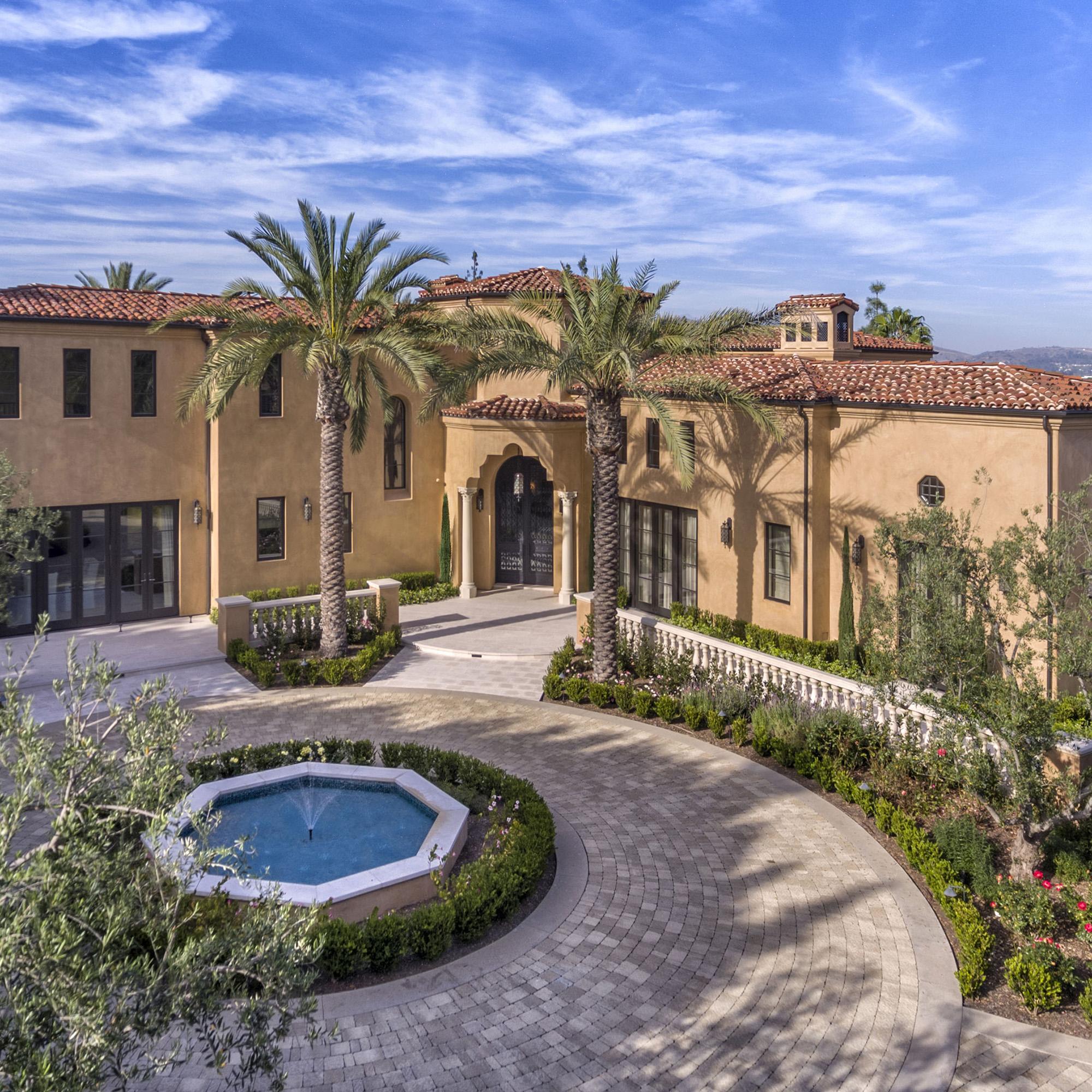 Orange County - Mediterranean Estate