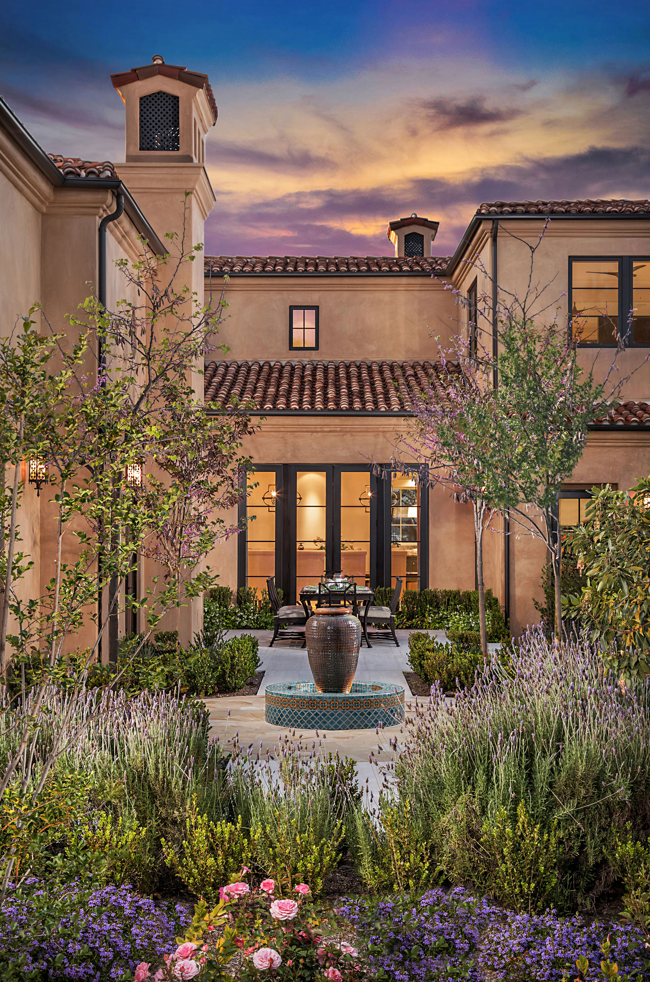 Orange County Mediterranean Estate Patio By Oatman Architects