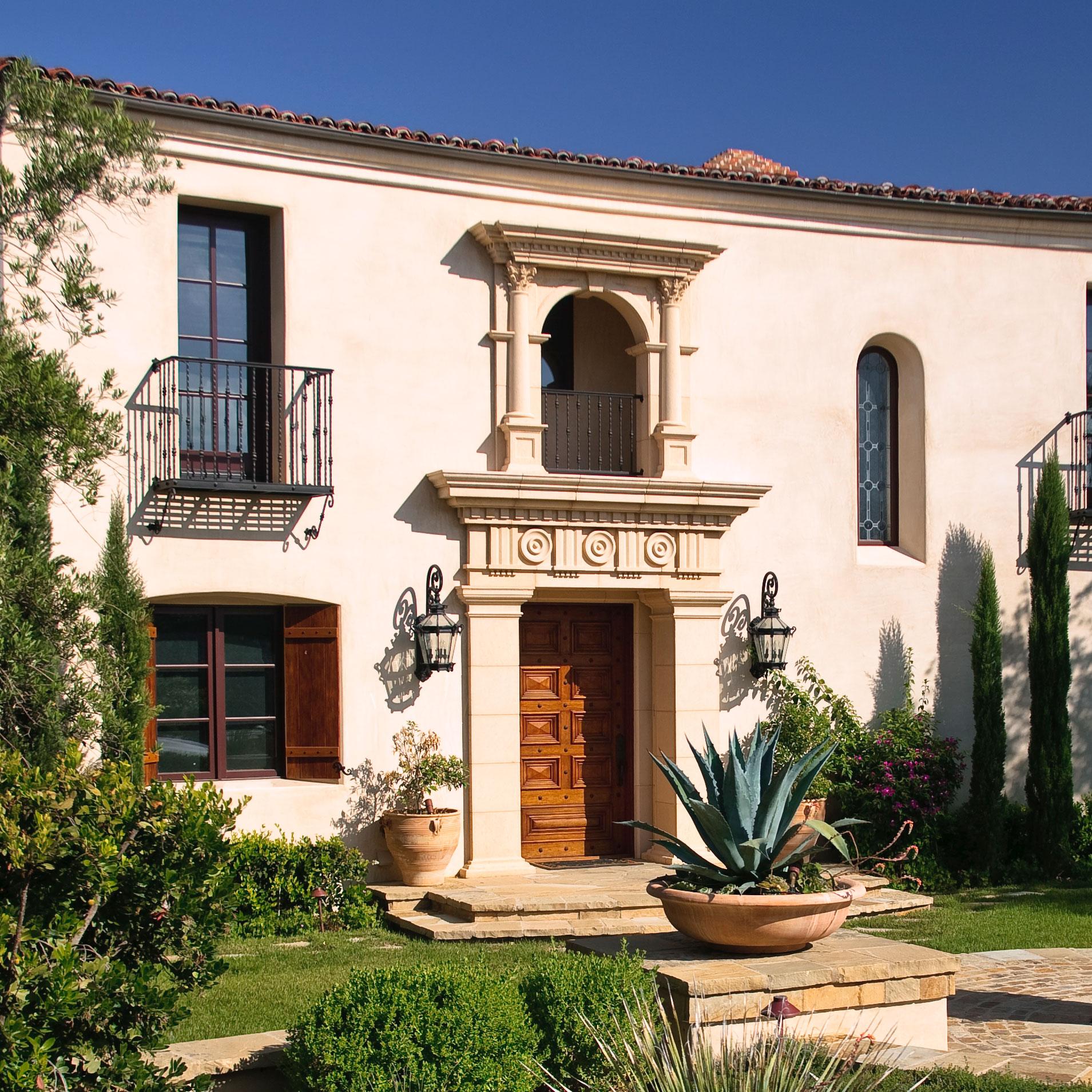 SHady Canyon - Andalusian Revival Villa