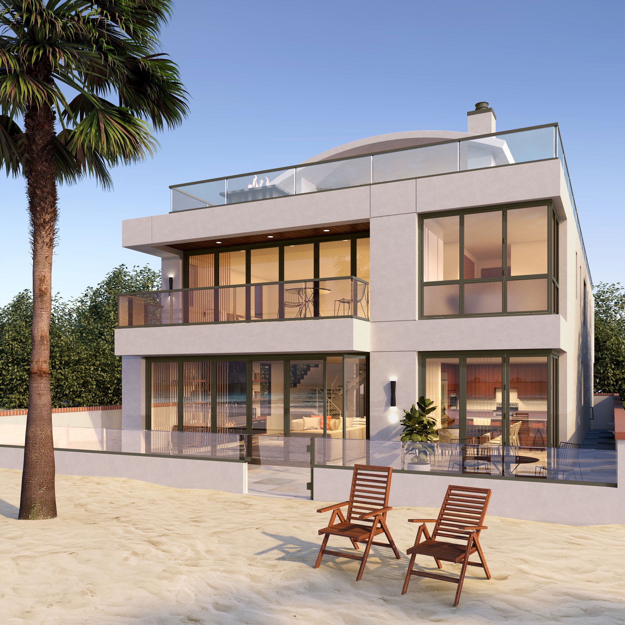 Newport Beach - Contemporary Beach House