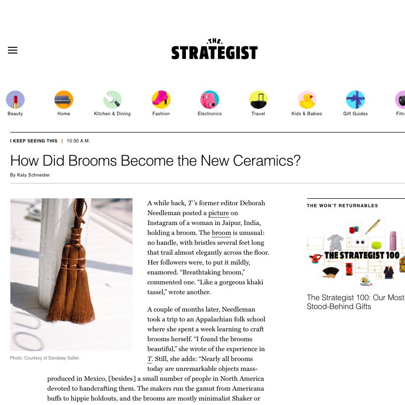 New York Magazine / The Strategist