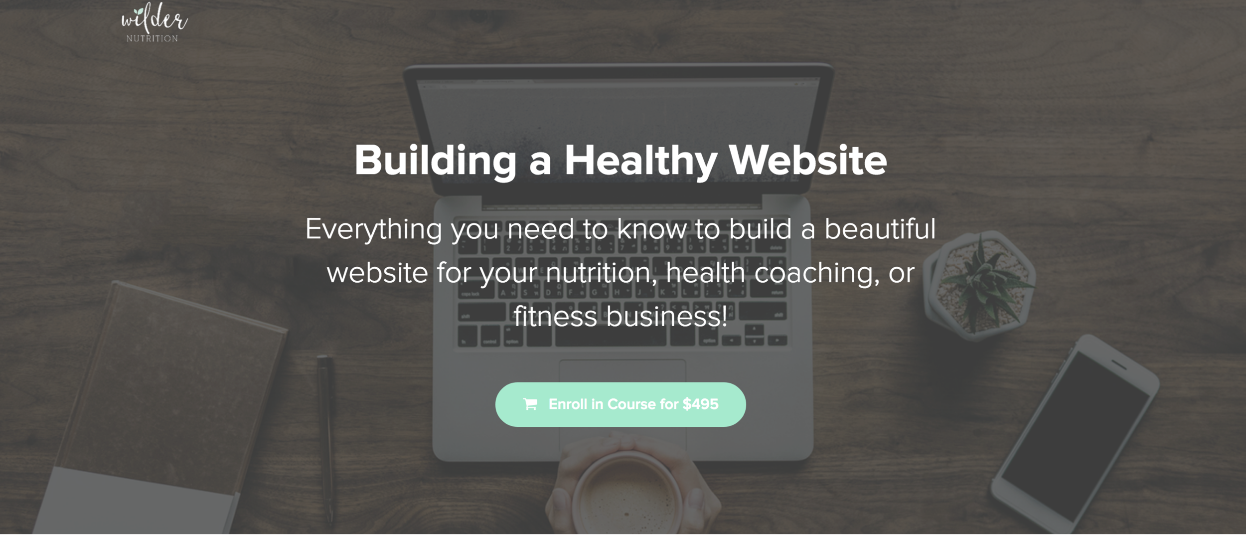 websites for nutritionists. NTP website. Nutritional therapy practitioner website. How to build a website.