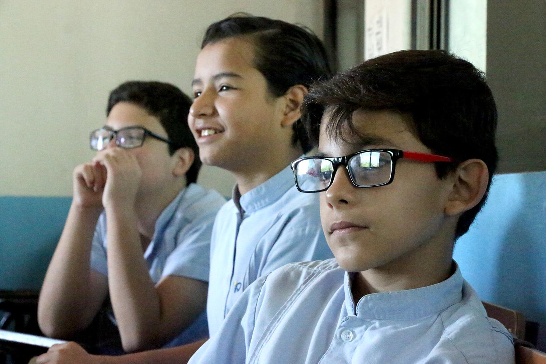 alumnos de lengua maya Blas Pascal