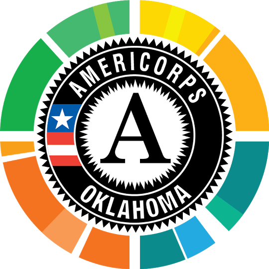 Oklahoma AmeriCorps - Oklahoman's are struggling with literacy, poverty and food security. At Oklahoma AmeriCorps, we believe we can change that through service.What We Do: We provide Oklahoma AmeriCorps members with the leadership, communication and career skills training they need to tackle our state's most pressing problems.How We Do It: We connect our well-trained, motivated members with nonprofits, school districts and community-based programs throughout the state through 8 programs.How We Help: Our members help nonprofits expand their missions to support economic opportunity, education and food security in local communities.Why We Do It: We exist to serve. Our mission is to strengthen Oklahoma communities, develop leaders, provide opportunities and improve the quality of life in our state through service. Since 1994, more than 11,000 Oklahoman's of all ages and backgrounds have helped us grow our mission. We believe that when we all work together, we all make an impact.