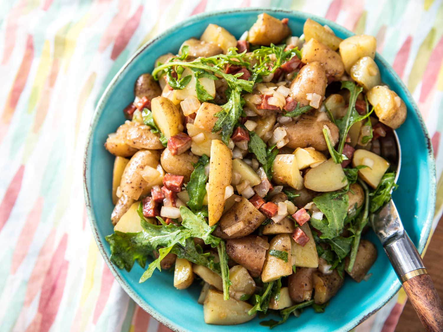 YUMYIN Fingerling Potato Salad with Caramelized Onion and Arugula.jpg