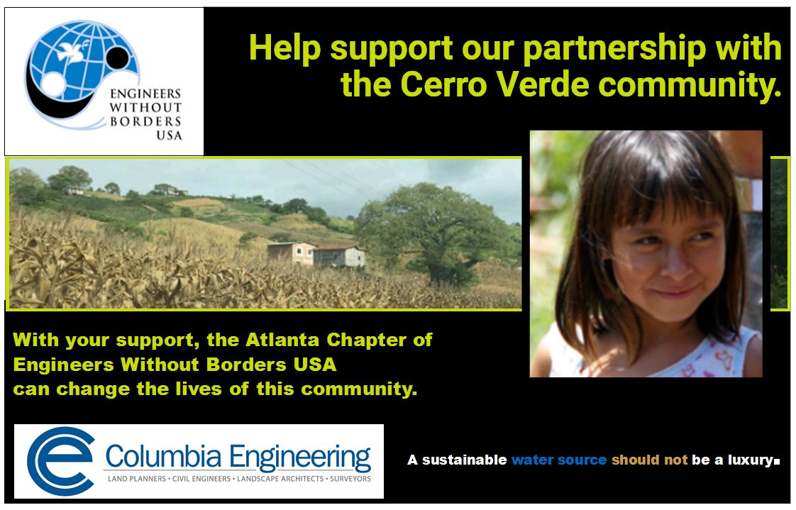 SHARING TALENTS AND TREASURES TO MAKE A DIFFERENCE - Columbia is supporting an EWB project to support the design, funding, and construction of a clean and sustainable water source for a community in Ecuador.