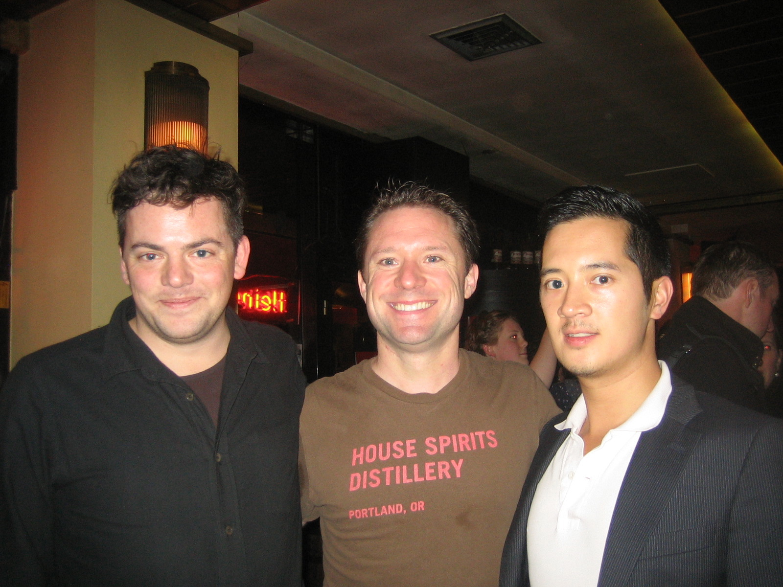 With Nico Muhly and Joey Roukens in Rotterdam, November 2012.