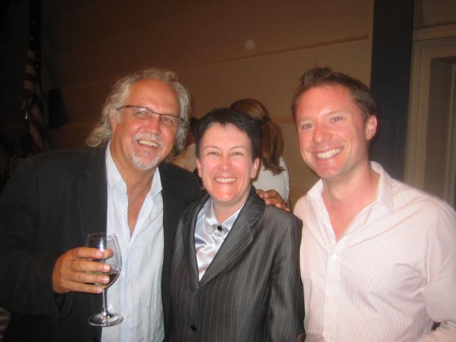 With Jennifer Higdon and Donald Runnicles at the closing concert of The Grand Teton Music Festival in August 2010