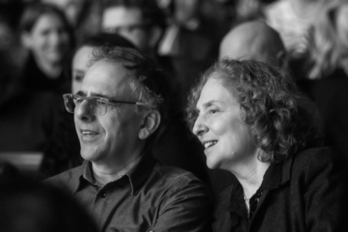 Michael Gordon and Julia Wolfe in the audience  Photo credit: Dmitrijus Matvejevas