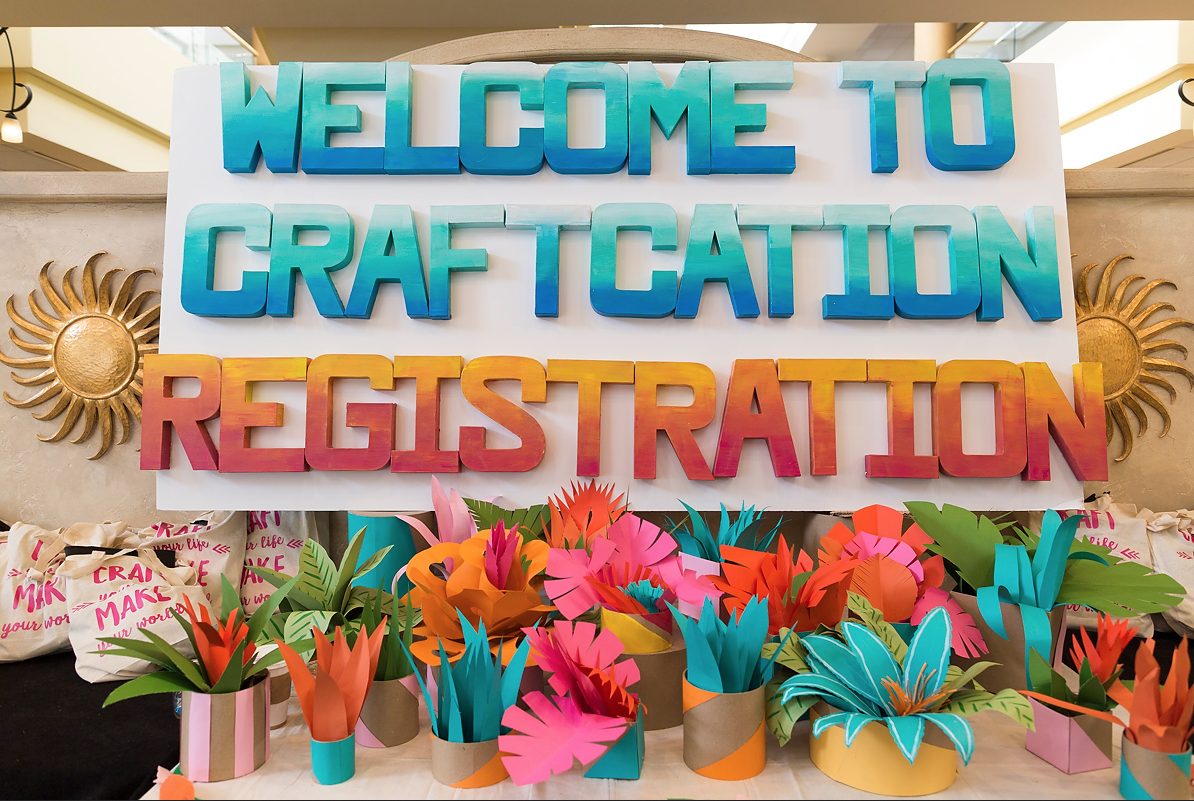 Register for Craftcation 2019 is open!