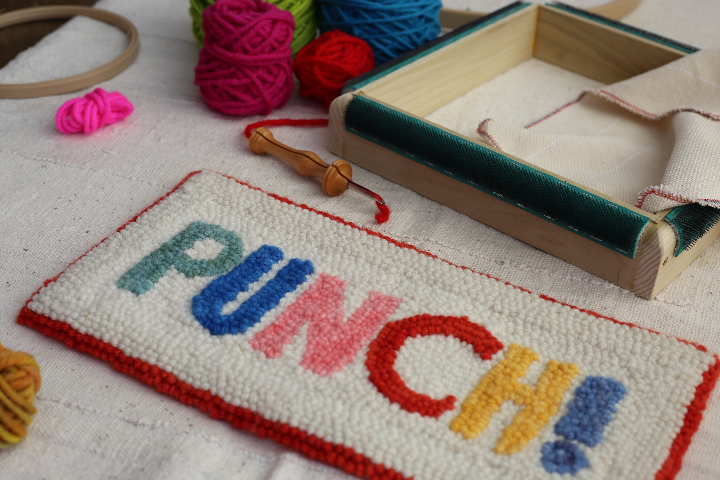 ABOUT — PUNCH! Rug Hooking