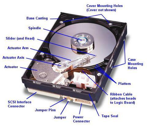 Anatomy of a External Storage Drive
