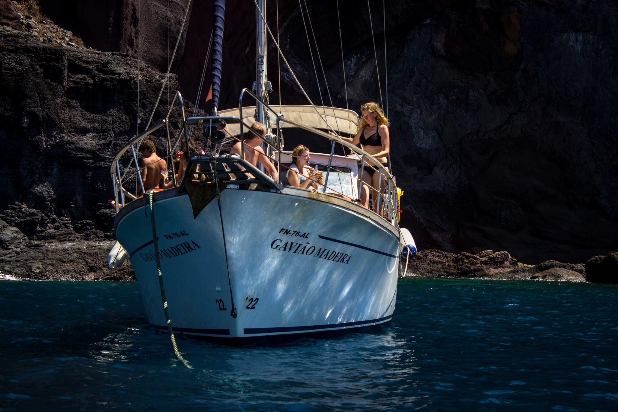Sailing boat Gavião
