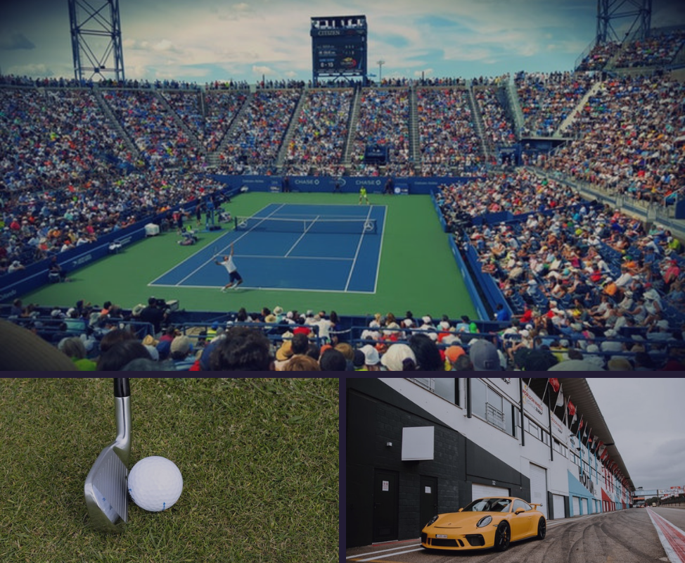 Reward: U.S. Open Tennis Second Week Matches with Promenade Seating, U.S. Open Golf Two Day Experience OR Porsche Driving Experience.  Points Needed: 470109 points