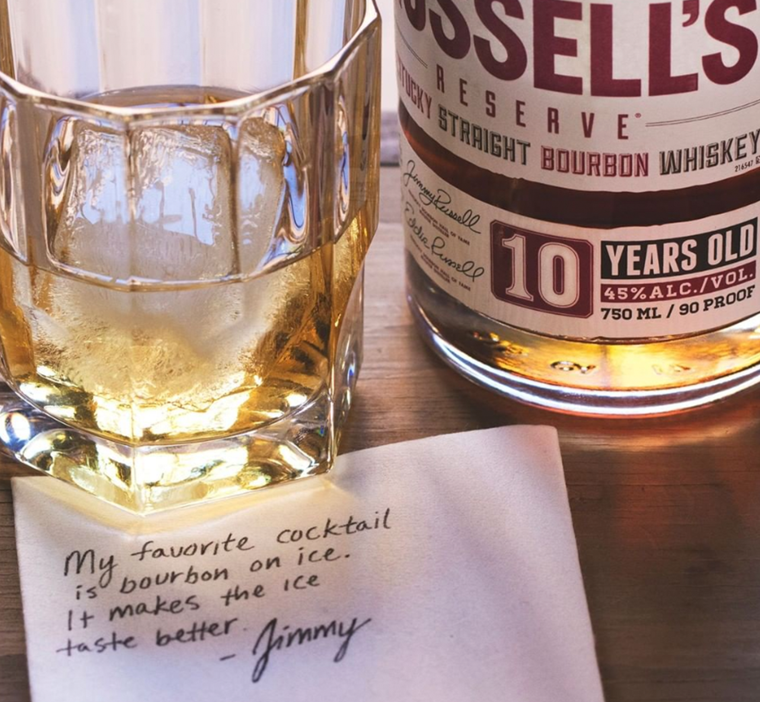 Russell's Reserve Social Content