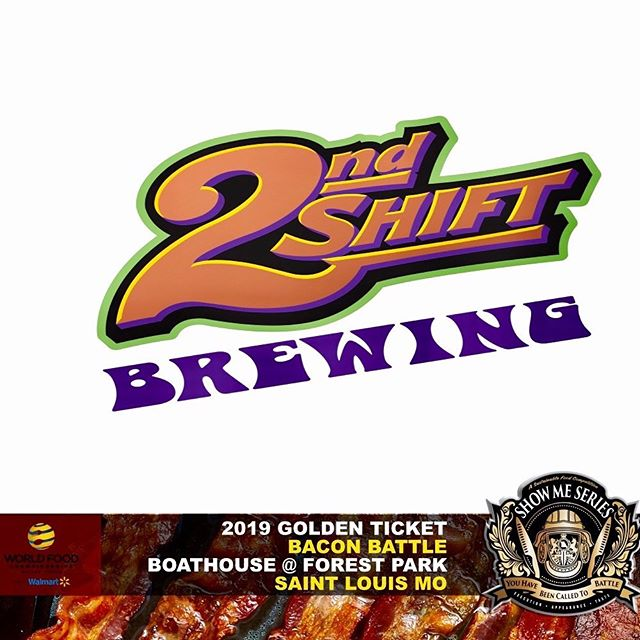 And they said #lettherebebeer! @2ndshiftbrewing #hibiscuswitbier absolutely kills it with #BACON. Find out yourself at our @worldfoodchampionships #BaconBattle at the @boathousestl. Hats off to our Beer Sponsor and best of luck to them this weekend with #criderfest 2019 #WhatsLagerGotToDoWithIt 🍺 🔪🔥 • • • #ohitson #ontheroadtodallas #wfc2019 #showmeseriesmo #competition #showme #wfcqualifier #chefs #homecooks #beer #2ndshiftbrewing #culinarycompetition #throwdown #goldenticket
