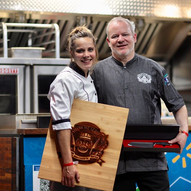 Congratulations to the newest @worldfoodchampionships #goldenticket winners! #latergram to Tuesday's #battlebacon @boathousestl where @private_chefanna swept the judges vote and is bringing #biteofthenite winner @jerseyjackmac with her to the #mainevent in #dallas! Can't wait to see what they cook up as we head out #ontheroadtodallas. 🔪🔥🥓 • • • Proudly thanking our sponsors @naturaltableware @syscost.louis  @chef_works @glenmorangieusa @moetchandon @belvederevodka @turbopot #ohitson #showmeseriesmo #competition #showme #wfcqualifier #chefs #homecooks #culinarycompetition #throwdown #goldenticket #wfc2019 #foodchamps #foodsport #worldfoodchampionships