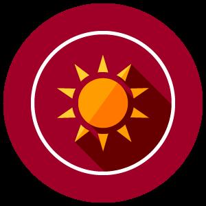 NO SUNLIGHT - Avoid prolonged exposure to direct sunlight.