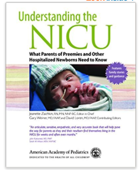 understanding the NICU book for preemie care package