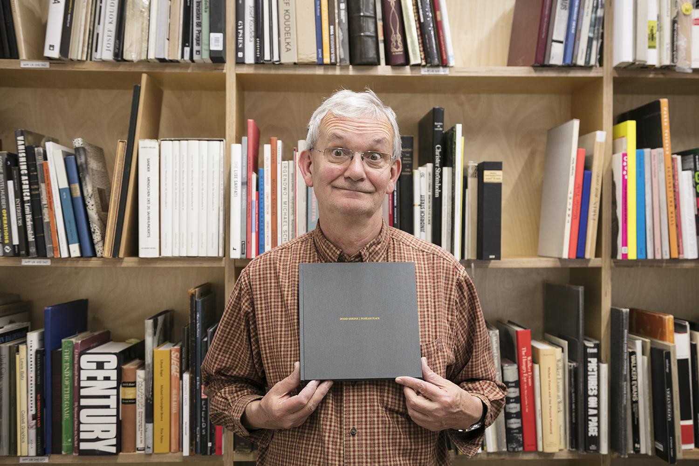 Martin Parr With Photobook Familiar Place of artist Ovidiu Gordan.jpg