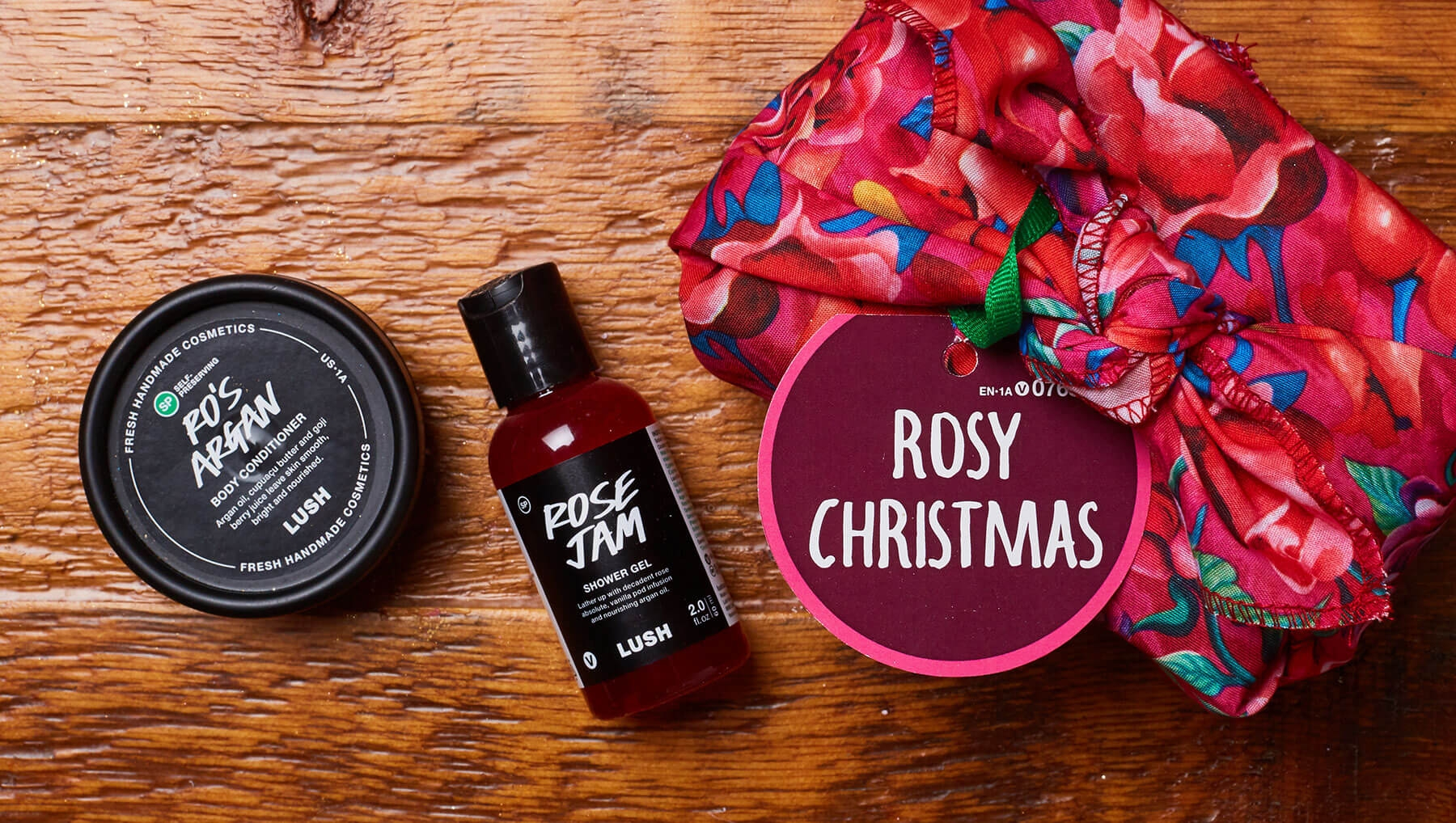 Rosy Christmas from Lush Cosmetics - $19.95 - Perfect for your girlfriend that just needs to relax and cozy up in a nice warm bath!