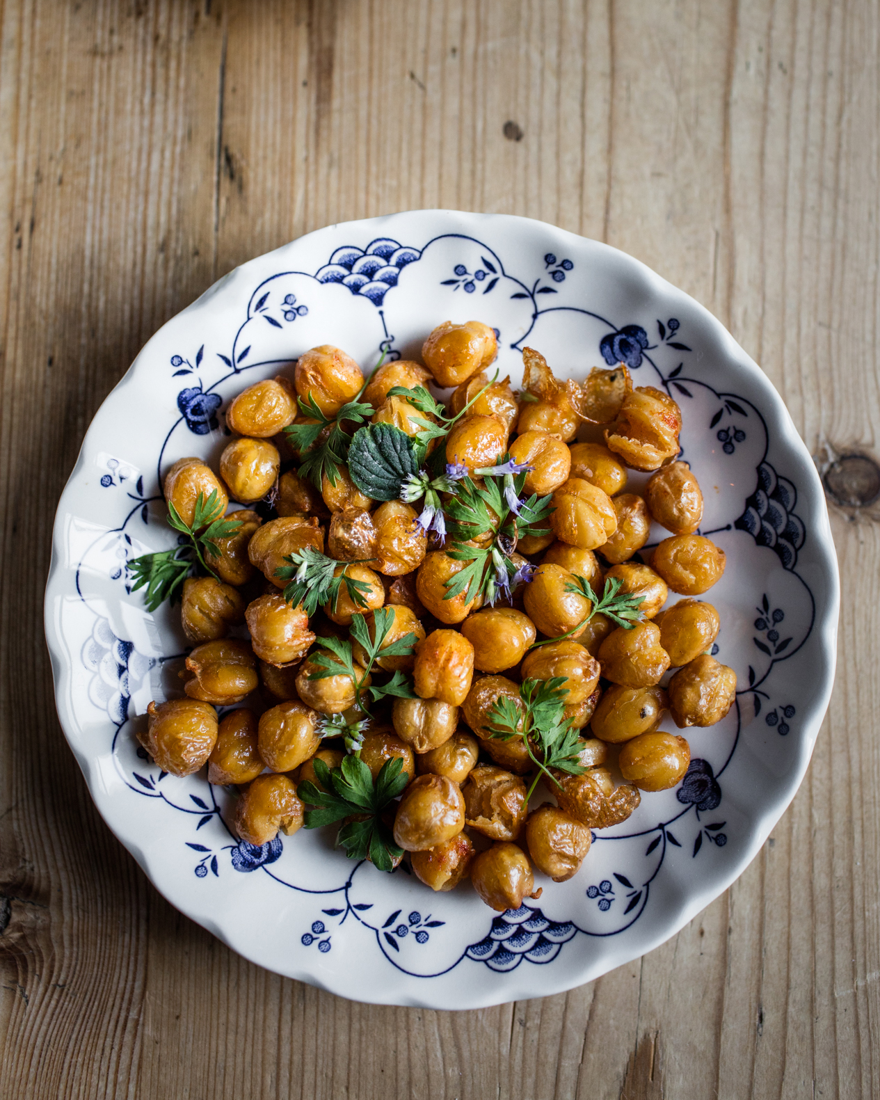 Fried Chickpeas with Sage     Photo Download
