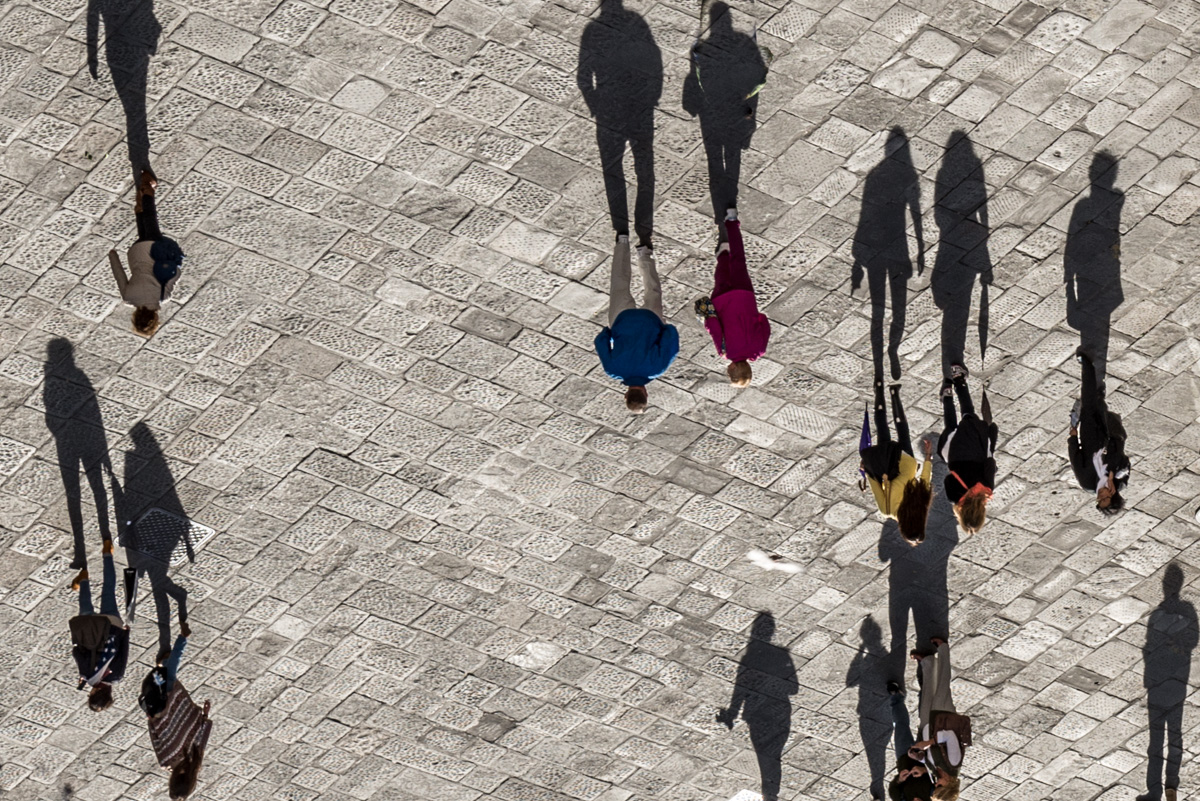 Shadows Casting People