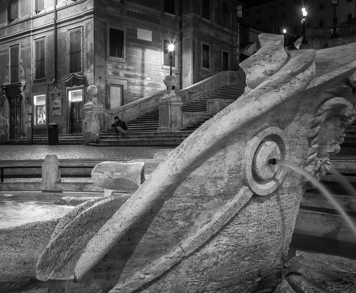 Fountain and Steps