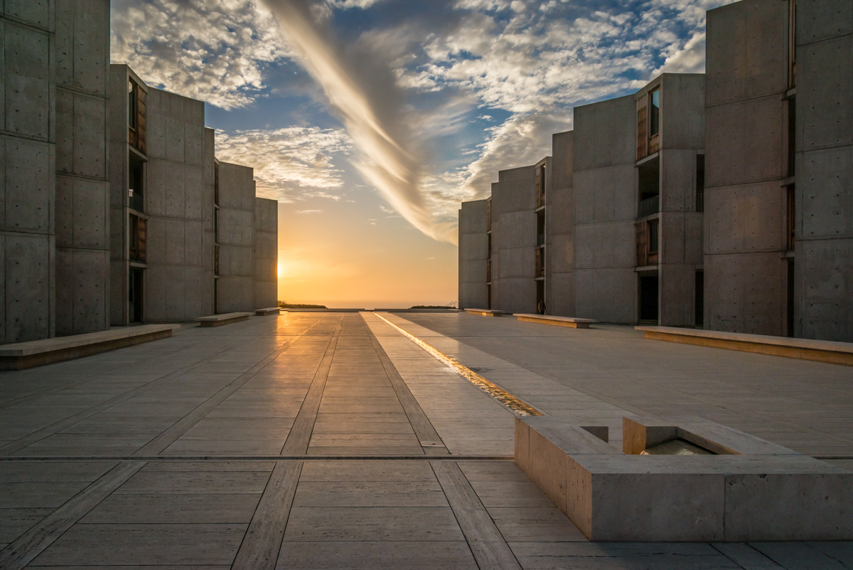 Salk Institute Swirl