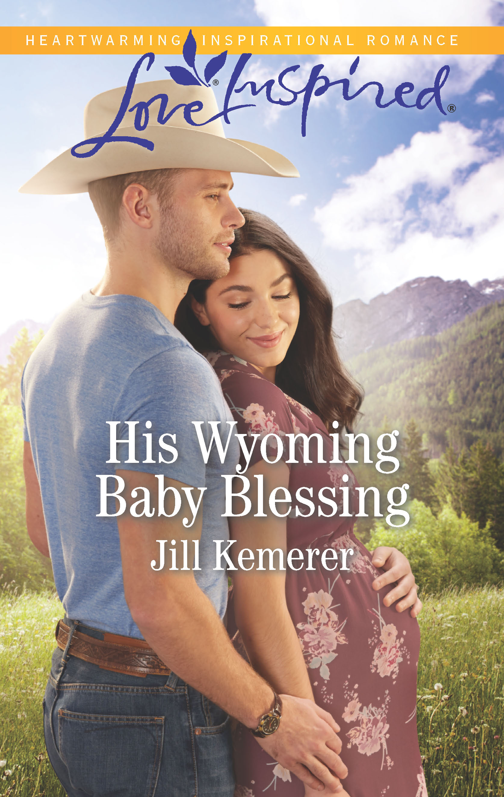 His Wyoming Baby Blessing - She's pregnant on his doorstep…Saddle up for this Wyoming Cowboys novel