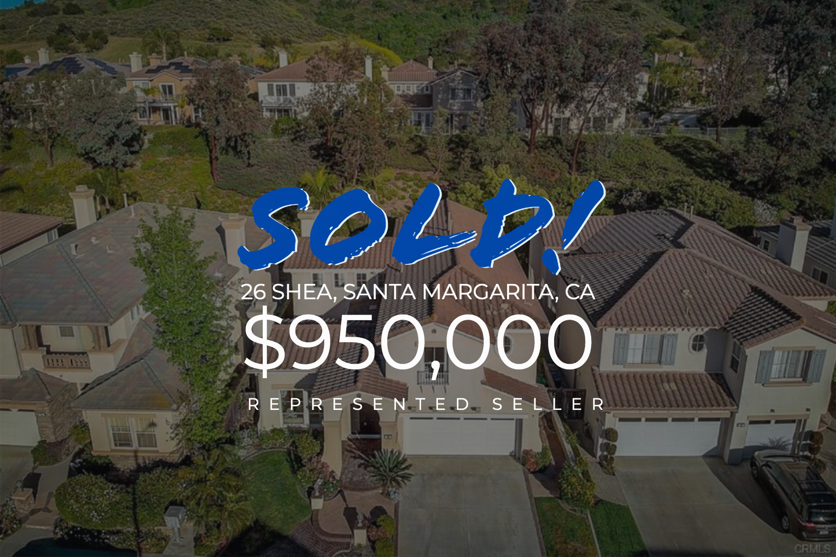 Sold With Matt Blashaw 26 Shea in Santa Margarita, CA