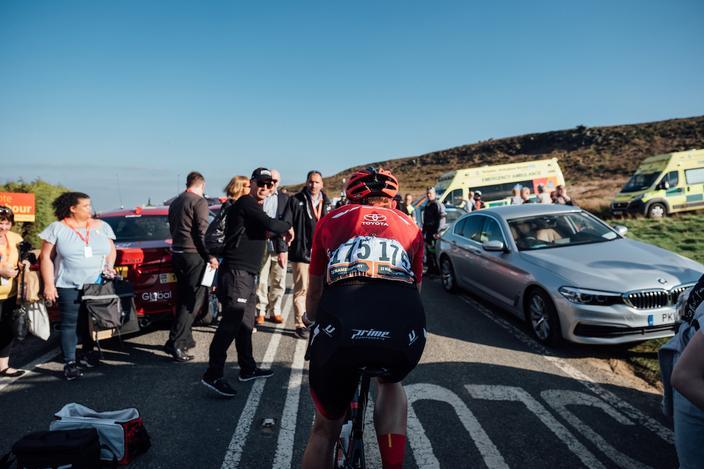 Adam Kenway, Tour de Yorkshire. Photo: Vitus Proc Cycling p/b Brother UK